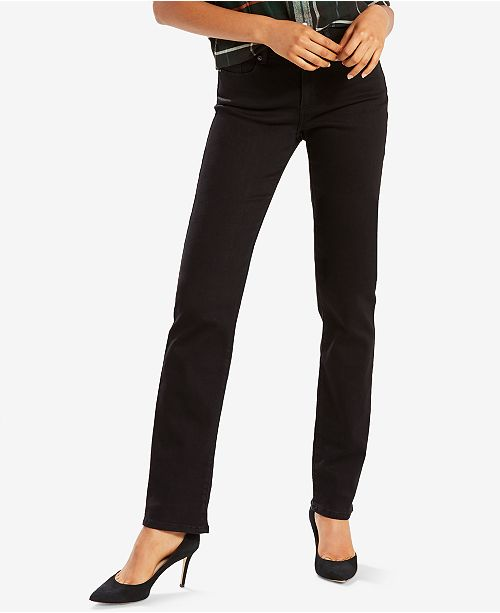 6968acb7f8fb0f Levi s Classic Straight-Leg Jeans   Reviews - Jeans - Women - Macy s