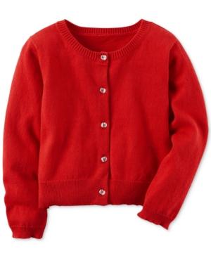Carters EmeraldButton Cotton Cardigan Toddler Girls (2T5T)