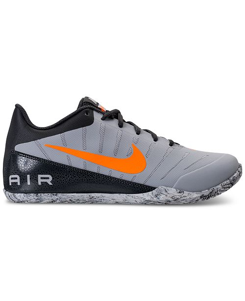 7ca956f31ff Nike Men s Air Marvin Low II Basketball Sneakers from Finish Line ...
