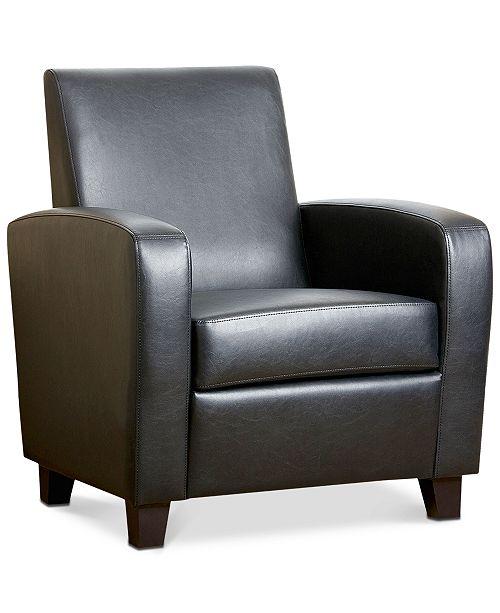 Abbyson Living Merced Club Chair, Quick Ship