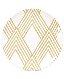 by Laura Johnson Cobble Woven Salad Plate