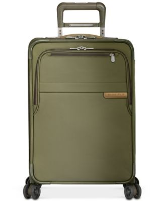 "Baseline 22"" Expandable Carry-On Spinner Suitcase"