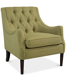 CLOSEOUT! Clifford Accent Chair, Quick Ship