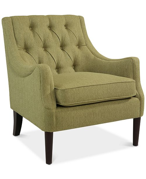 carriage & co. Clifford Accent Chair, Quick Ship