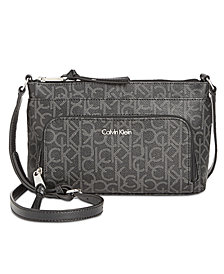 Calvin Klein Carrie Signature Crossbody