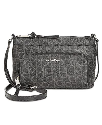 Calvin Klein Carrie Signature Crossbody