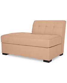Roxanne II Performance Fabric Modular Bumper Chaise - Custom Colors, Created for Macy's