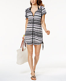 Dotti Bali Beach Hoodie Cover-Up