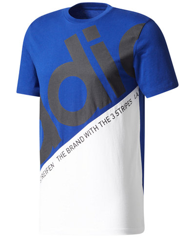 adidas Men's Originals Colorblocked Logo T-Shirt