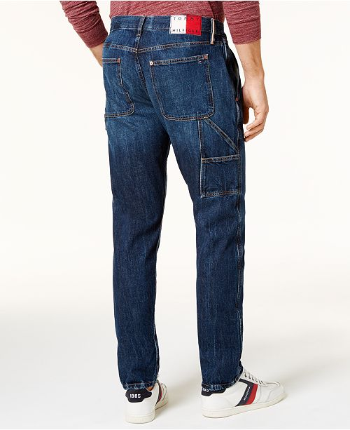1e4b5136 ... Tommy Hilfiger Men's Relaxed Tapered Carpenter Jeans, Created for  Macy's ...