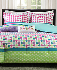 Mi Zone Katie 4-Pc. Reversible Full/Queen Comforter Set