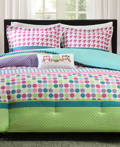 Mi Zone Katie Reversible Comforter Sets