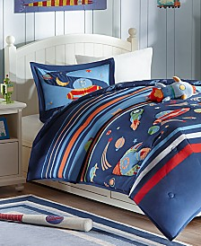 Mi Zone Kids Space Cadet 3-Pc. Reversible Twin Comforter Set