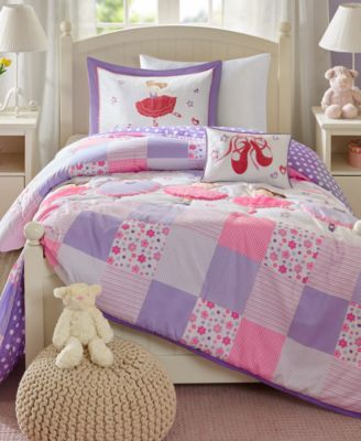 Twirling Tutu 3-Pc. Twin Comforter Set