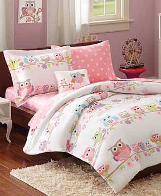 Wise Wendy 6-Piece Reversible Twin Comforter Set