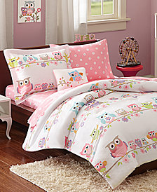Mi Zone Kids Wise Wendy 6 Piece Reversible Twin Comforter Set