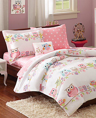 Mi Zone Kids Wise Wendy 8 Pc Reversible Full Comforter