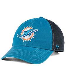 '47 Brand Miami Dolphins Transistor CLEAN UP Cap