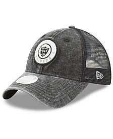 New Era Women's Oakland Raiders Perfect Patch 9TWENTY Snapback Cap