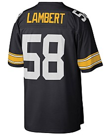 Mitchell & Ness Men's Jack Lambert Pittsburgh Steelers Replica Throwback Jersey
