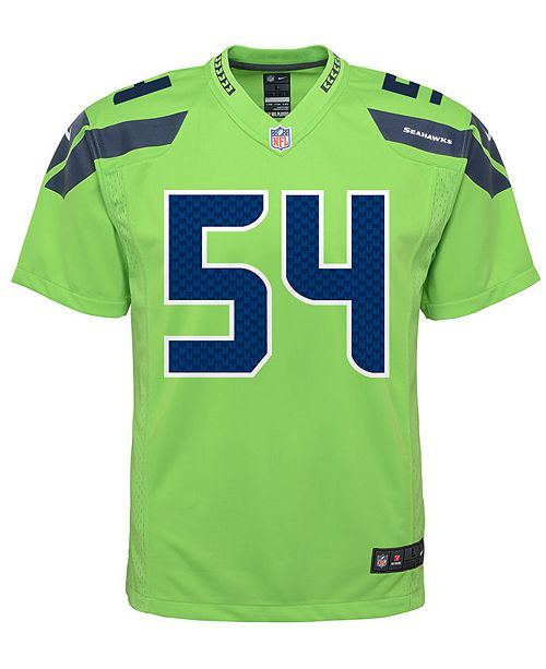 buy popular 717f7 38562 Nike Bobby Wagner Seattle Seahawks Color Rush Jersey, Big ...