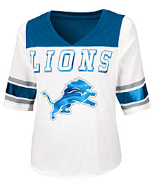 Touch By Alyssa Milano Women's Detroit Lions Touchdown T-Shirt
