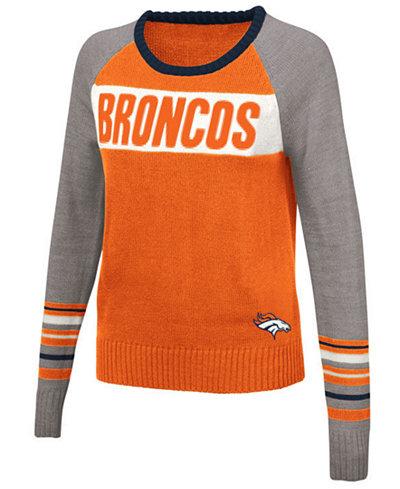 Touch By Alyssa Milano Women's Denver Broncos Team Spirit Sweater