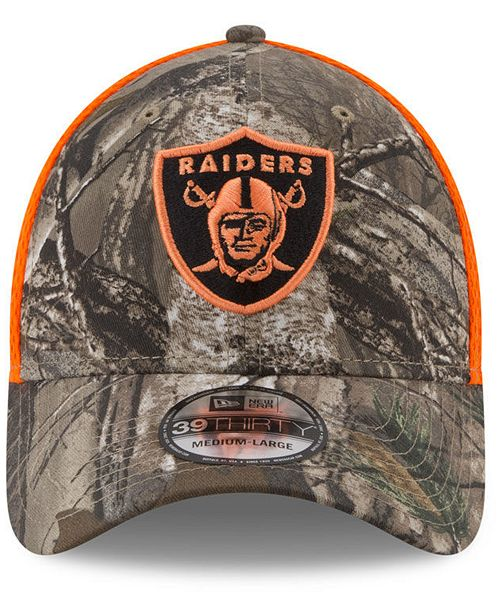 half off c8ee6 90a23 ... official store new era oakland raiders realtree hunter neo 39thirty cap  sports fan shop by lids