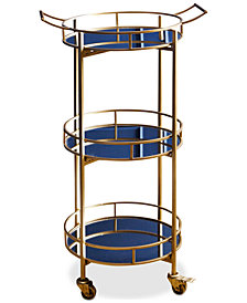 Brenna 3-Tier Bar Cart, Quick Ship