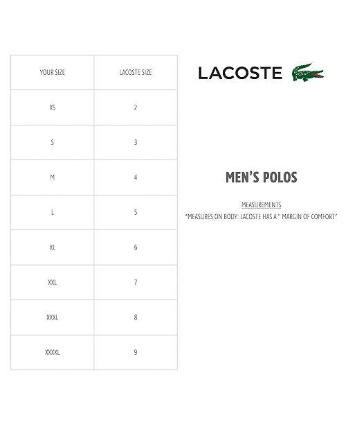 2ac8ff5f Lacoste Men's Long Sleeve Pique Polo & Reviews - Polos - Men - Macy's