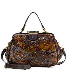 Patricia Nash Gracchi Frame Satchel, Created for Macy's