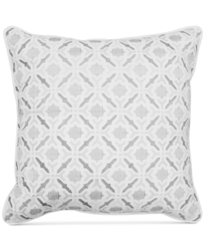 Hallmart Collectibles 20 Square Embroidered Self Piping Decorative Pillow Bedding