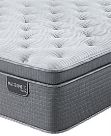 Serta Masterpiece William 17'' Luxury Firm Euro Pillow Top Mattress - California King, Created for Macy's