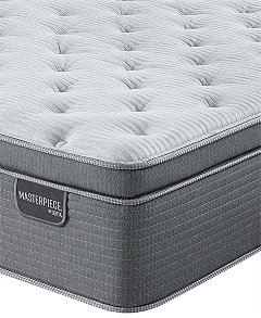 Masterpiece William 17 Luxury Firm Euro Pillow Top Mattress Queen Created For Macy S