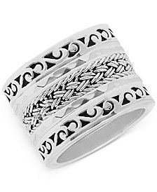 Lois Hill 5-Pc. Set Stack Rings in Sterling Silver