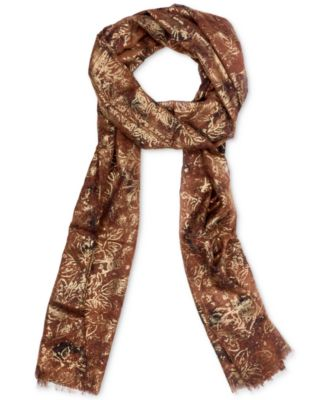Metallic-Print Scarf, Created for Macy's