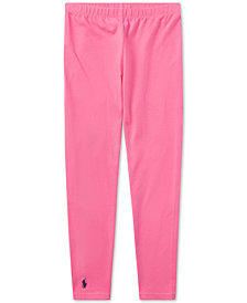 Ralph Lauren Big Girls Pony Leggings