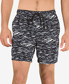 "Speedo Men's Printed 5"" Swim Trunks"