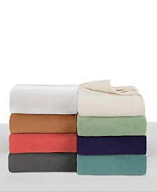 Vellux Brushed Microfleece Blankets