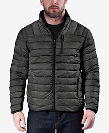 Hawke & Co. Outfitters Men's Big & Tall Quilted Packable Down Jacket