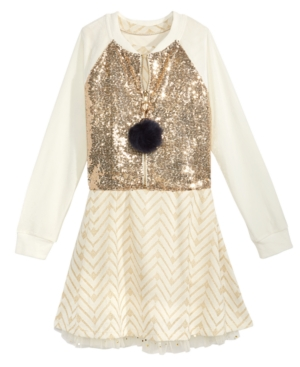 Beautees 2-Pc. Sequin...