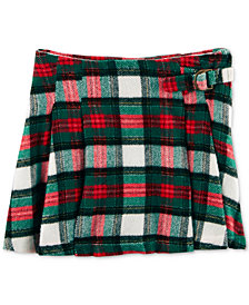Carter's Pleated Plaid Cotton Skirt, Little Girls & Big Girls
