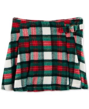 Carters Pleated Plaid Cotton Skirt Little Girls (46X)