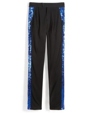 Nowadays Skai Sequin Tuxedo Pants Big Girls (716)  Juniors (15)