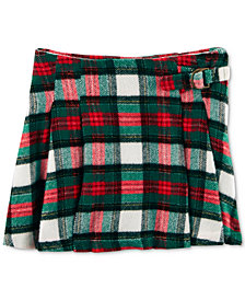Carter's Pleated Plaid Skirt, Toddler Girls
