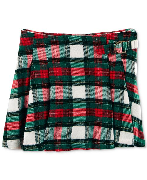 c7f26a8ba8 Carter's Pleated Plaid Skirt, Toddler Girls & Reviews - Skirts ...