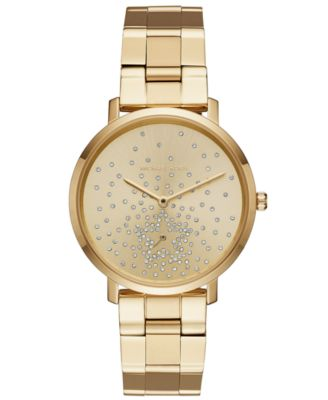 Michael Kors Women\u0027s Jaryn Gold-Tone Stainless Steel Bracelet Watch 38mm,  Created for Macy\u0027s
