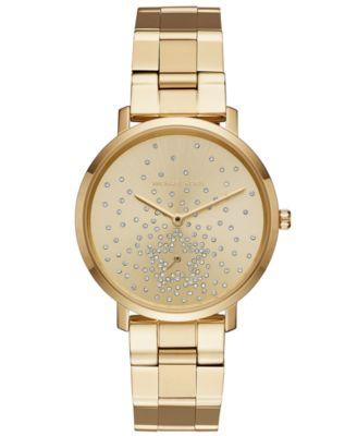Michael Kors Women\u0027s Jaryn Gold-Tone Stainless Steel Bracelet Watch 38mm,  Created for Macy\u0027s