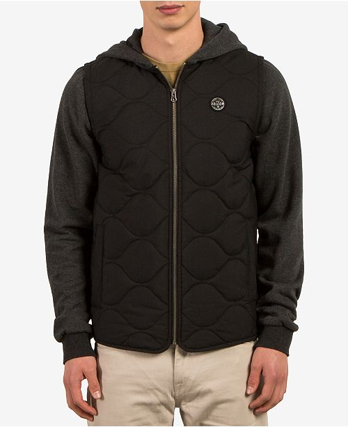 Volcom Men's Buster Quilted Puffer Jacket