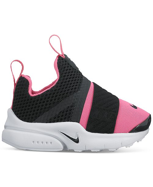 purchase cheap 791a7 8213a ... Nike Toddler Girls  Presto Extreme Running Sneakers from Finish ...
